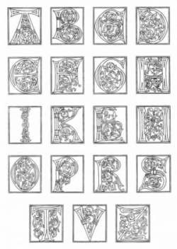 Coloring Pages About The Middle Ages