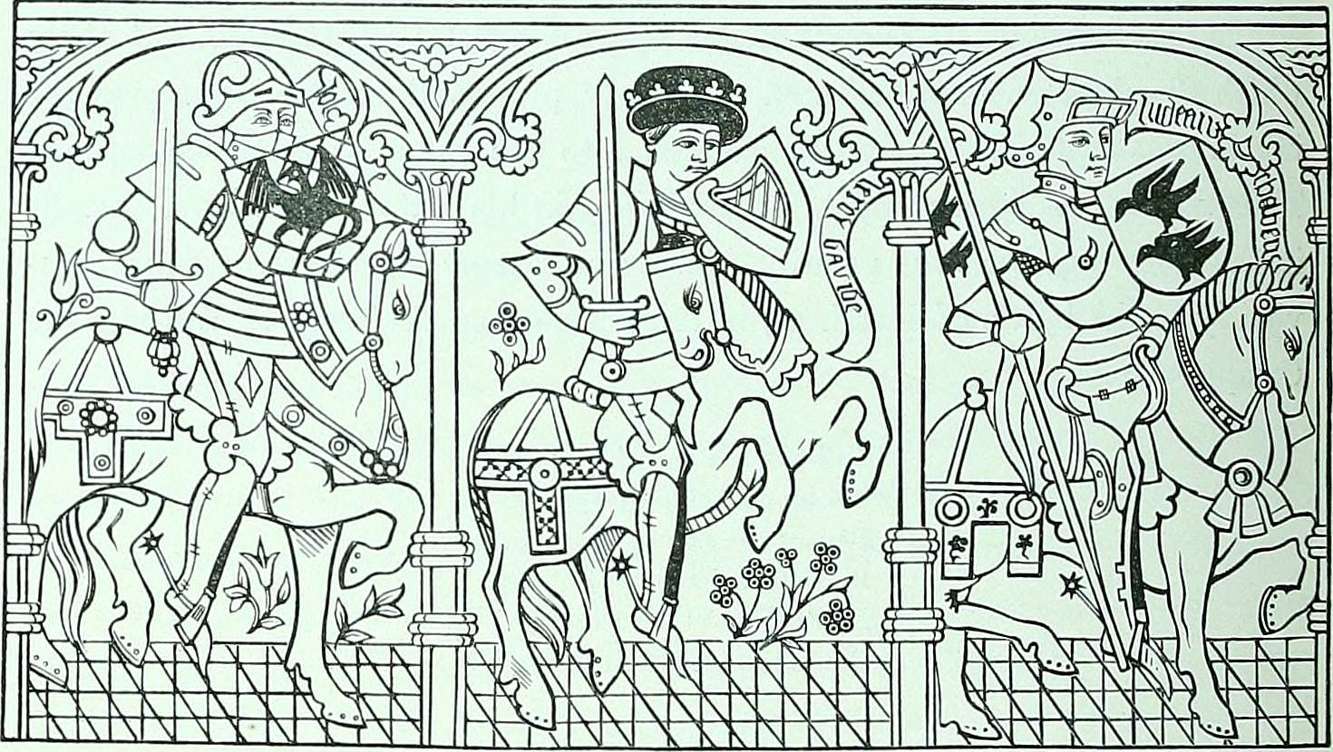 Coloring Pages about the Middle Ages - Medievalists.net