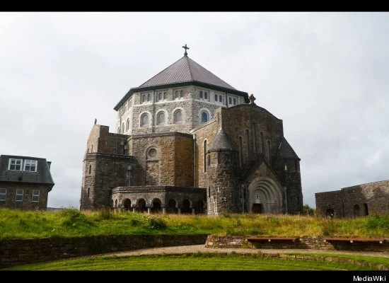 St. Patrick's Purgatory - Station Island in Lough Derg, County Donegal, Ireland.