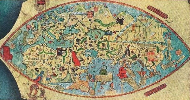 Genoese World Map, 1457