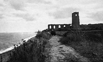 Lost medieval town of Dunwich revealed