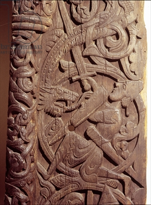 What did Dragons look like for the Vikings?