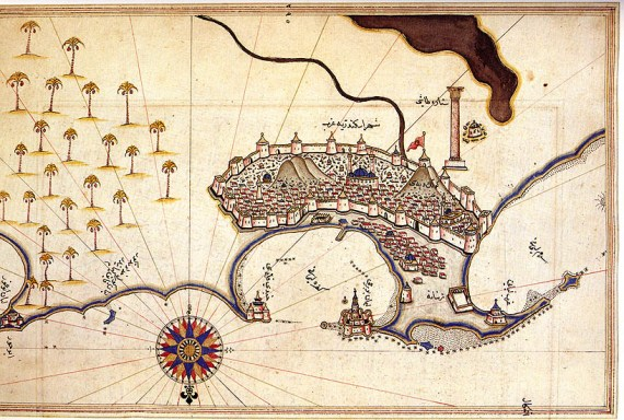 Alexandria by Piri Reis