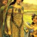 Queen Guinevere. A queen through time