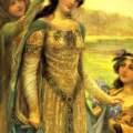Queen Guinevere. A queen through time