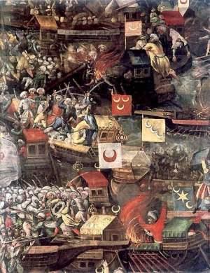 The Battle of Lepanto 1571