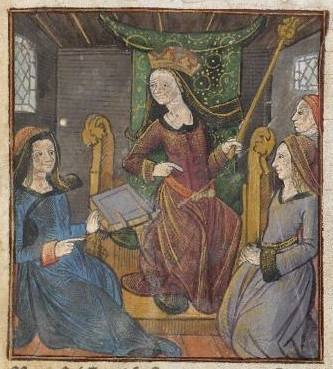 1493 French edition of the De mulieribus claris, Antoine Verard's Les nobles et cleres dames,