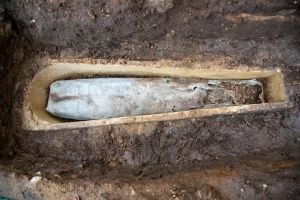 Coffin within a coffin - Credit:  University of Leicester