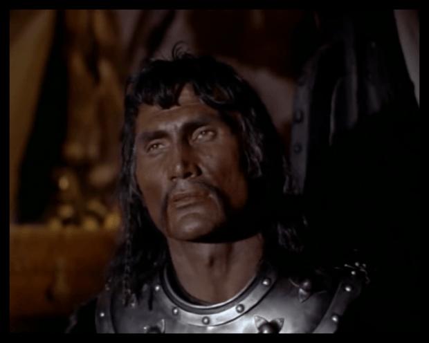 Jack Palance as Attila