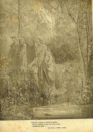 Illustration for Dante's Purgatorio 27