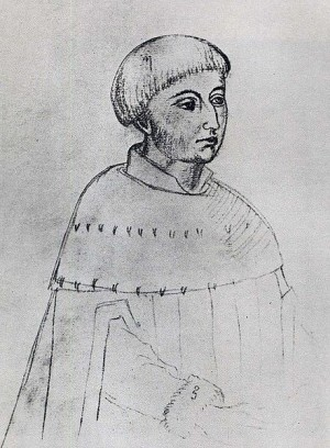 A young Louis XI  (16th century drawing)