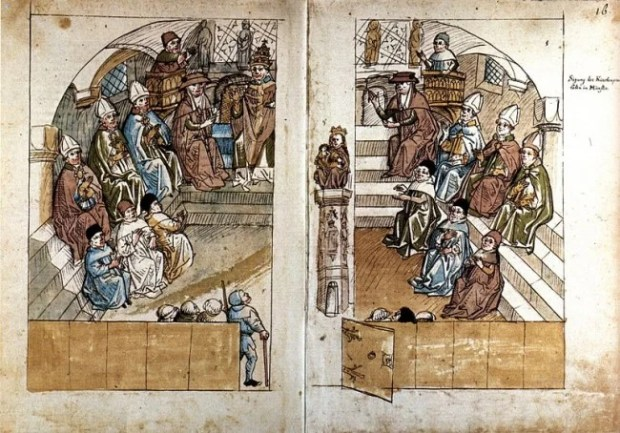 Council of Constance - mid 15th century image