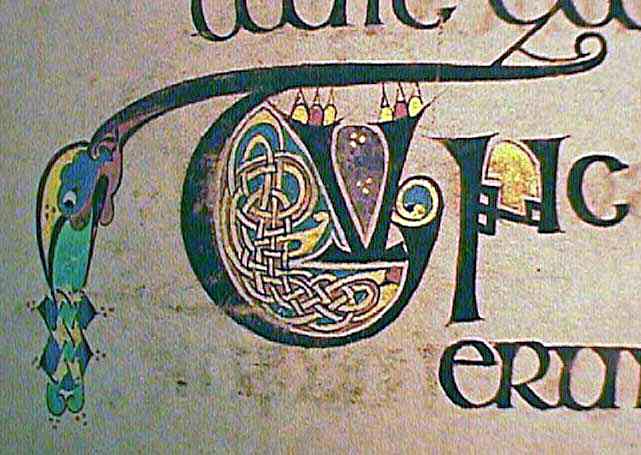 Book of Kells - Initial