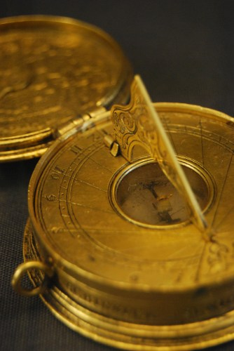 Pocket sundial (date unknown), Museum of the History of Science Oxford