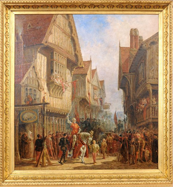 Richard III at the Blue Boar Inn - photo courtesy University of Leicester
