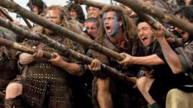 Braveheart battle scene