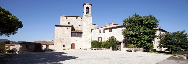 Medieval Castle and Hamlet for Sale in Italy