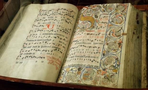 British Library - Medieval manuscript