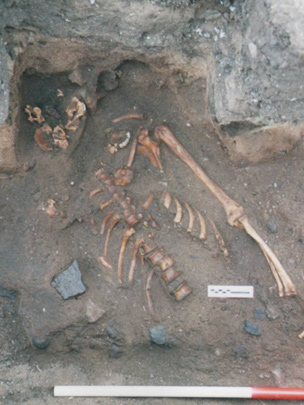 Medieval murder uncovered in Scotland