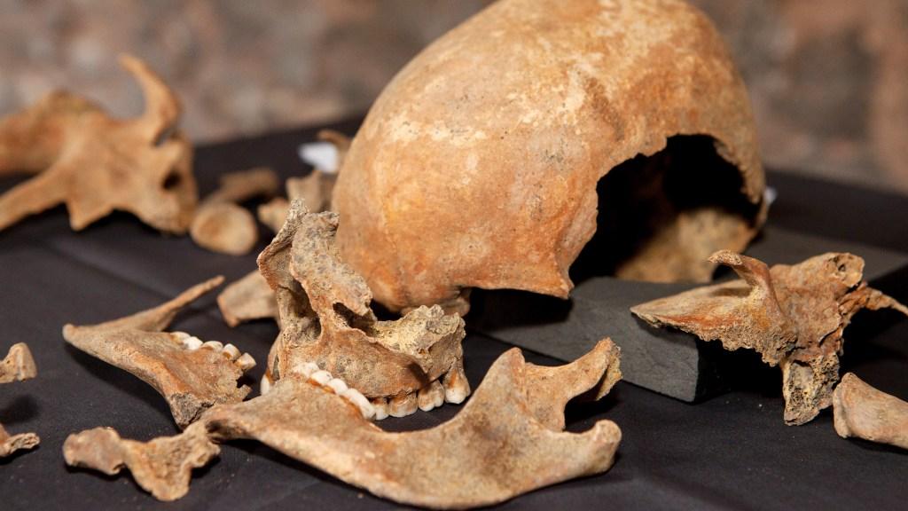London Black Death victim