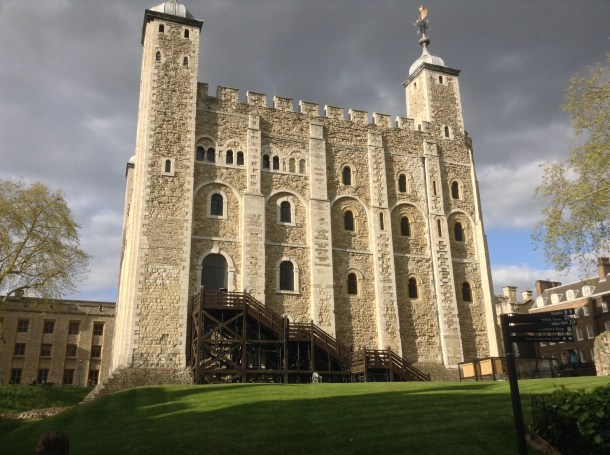 The White Tower of The Tower of London. Photo by Medievalists.net