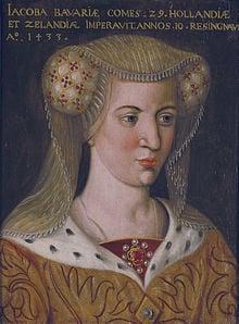 Jacqueline Countess of Hainaut
