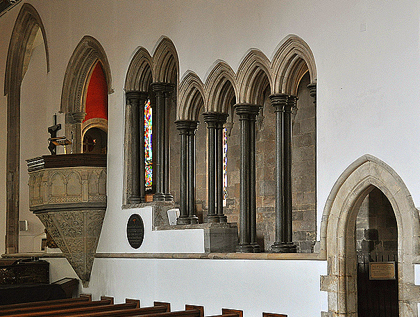 Beaulieu Abbey of readers pulpit
