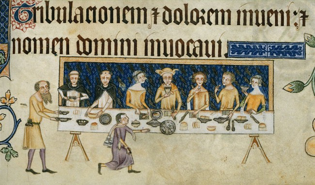 banquets middle ages