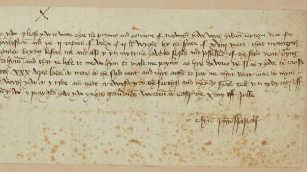 medieval letters