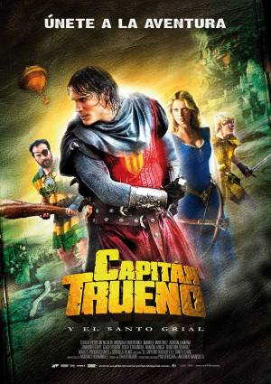 Movie poster - El Capitan Trueno/Captain Thunder