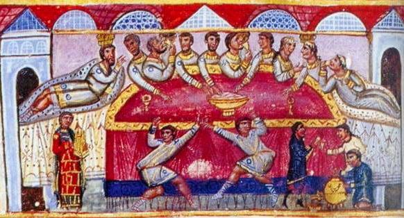 Byzantine Food