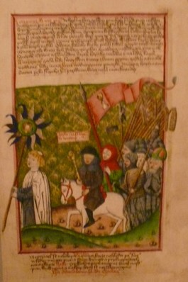 Jan Žižka leading the Hussites