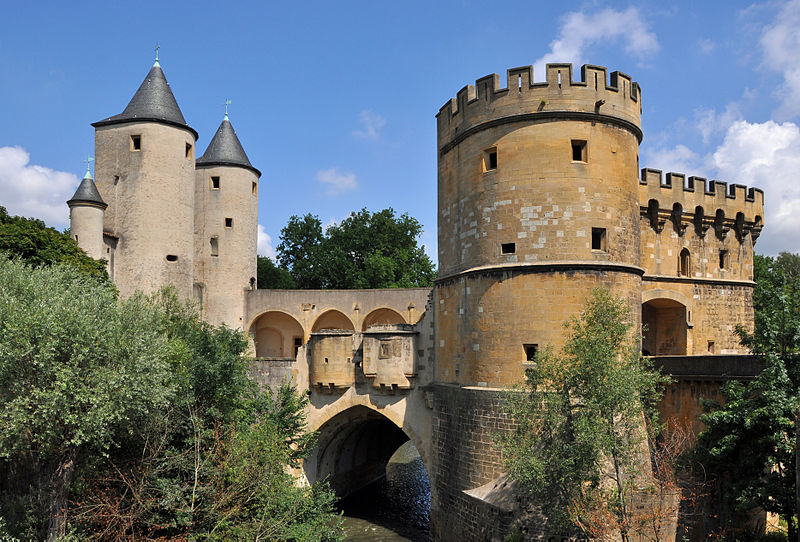 Metz (Porte des Allemands) German's Gate, 13th c.