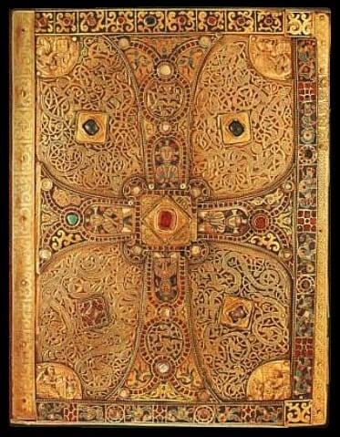 Carolingian Lindau Gospels late 9th century