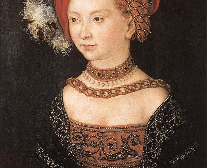Portrait of a young woman - Lucas Cranach the Elder (1530)