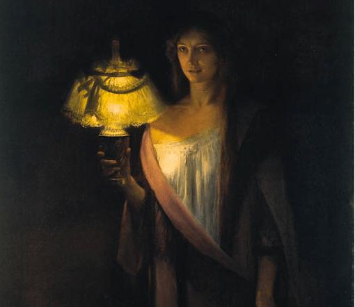 The Sleepwalker by Édouard Rosset-Granger (1853–1934)
