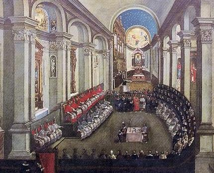 The Council of Trent, 1545 - 1563