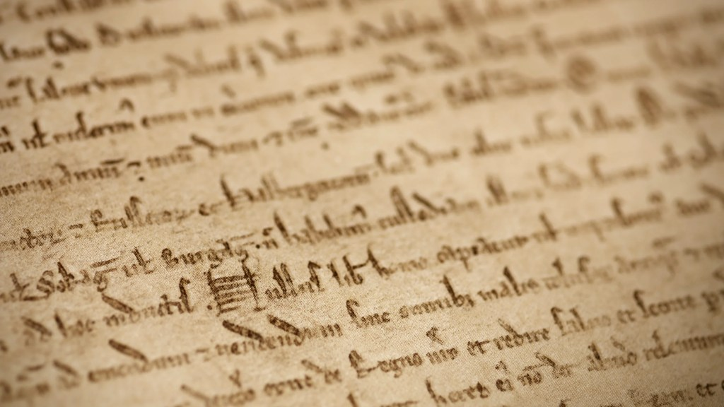British Library's Magna Carta, photo credit Joseph Turp