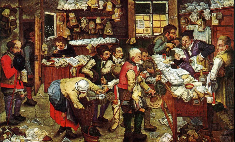 Pieter Brueghel the Younger - 'Paying the Tax' (The Tax Collector)'