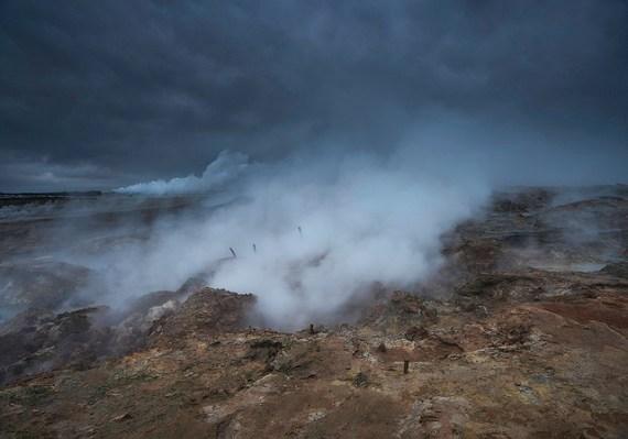 haunted iceland - Gunnuhver' - Reykjanes Peninsula, Iceland Photo by Kris Williams / Flikr
