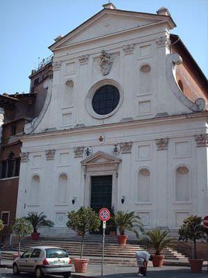 Church of Santo Spirito in Sassia in Rome
