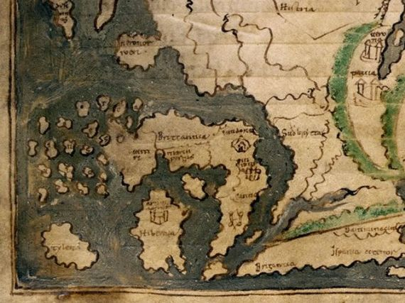 medieval maps of britain medievalists net