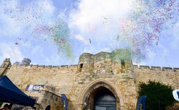 Lincoln castle reopens  - photo courtesy Lincoln County Council
