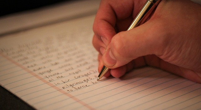 canterbury tales writing - photo by Daniel Laughland / Flickr