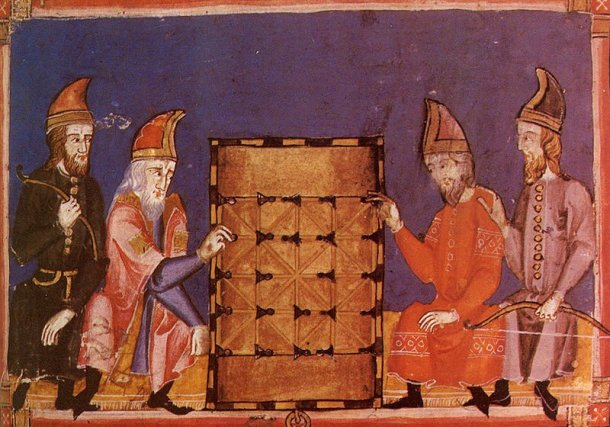 Dice and Alquerque in Alfonso's book