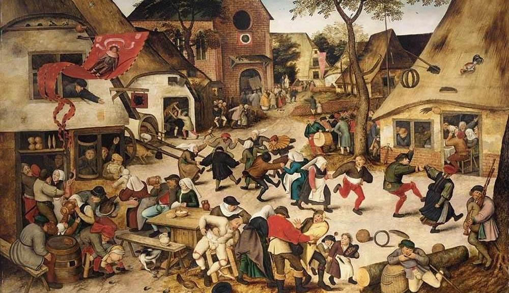 Pieter Brueghel - Kermesse (The Feast of Saint George)