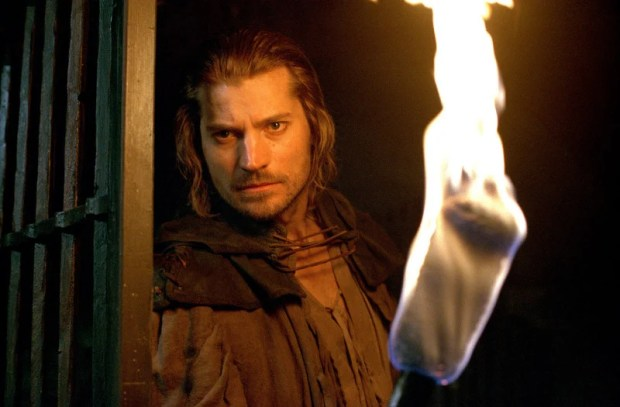 "Nikolaj Coster-Waldau as Martin, the Headsman in, ""Shadow of the Sword""."