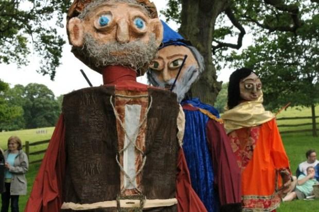 Great Charter Festival - photo courtesy Royal Holloway, University of London