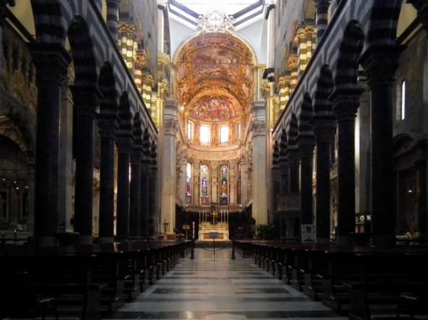 Cathedral of San Lorenzo, Genova, Liguria, Italy. (Wiki Commons)