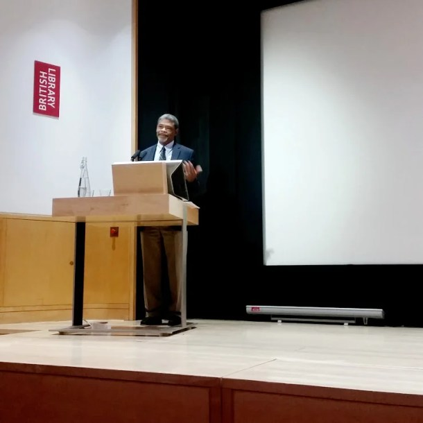 William Chester Jordan giving his paper, ''Magna Carta and the Mise of Amiens'